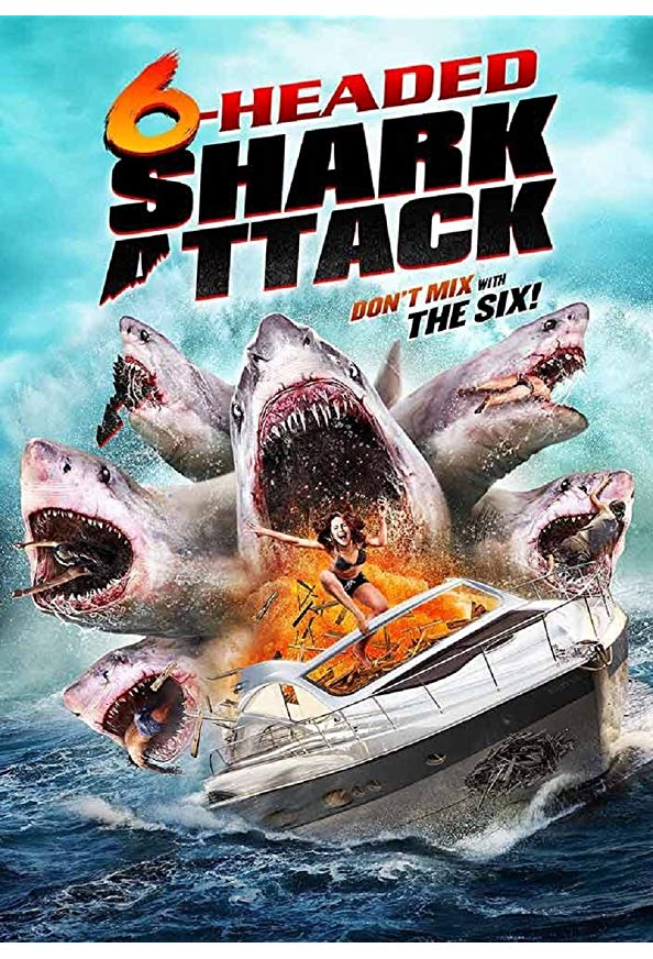 6-Headed Shark Attack kapak