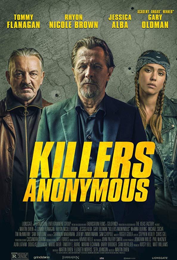 Killers Anonymous kapak