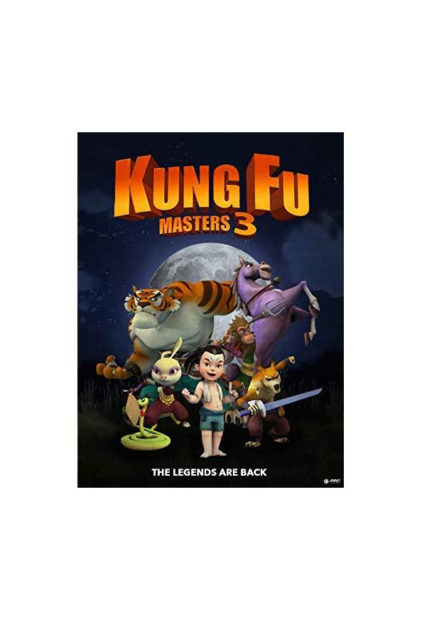 Kung Fu Masters 3 kapak