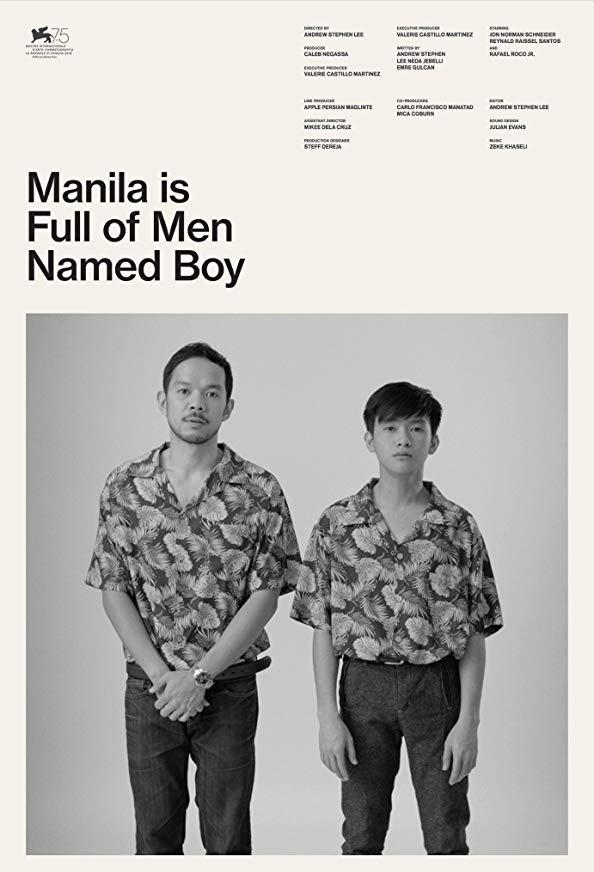 Manila Is Full of Men Named Boy kapak