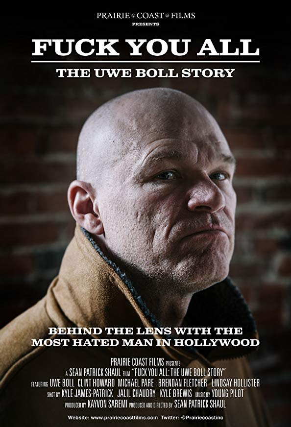 F*** You All: The Uwe Boll Story kapak