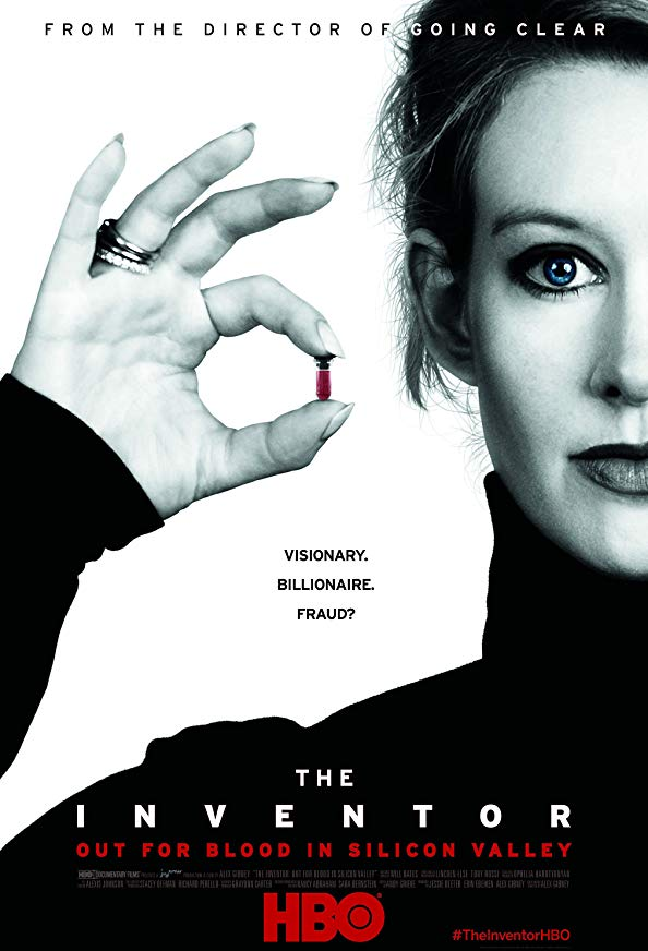 The Inventor: Out for Blood in Silicon Valley kapak