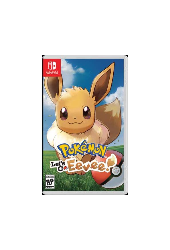 Pokémon: Let's Go, Eevee! kapak