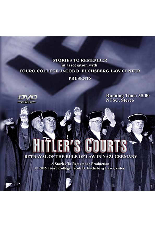 Hitlers Courts - Betrayal of the rule of Law in Nazi Germany kapak