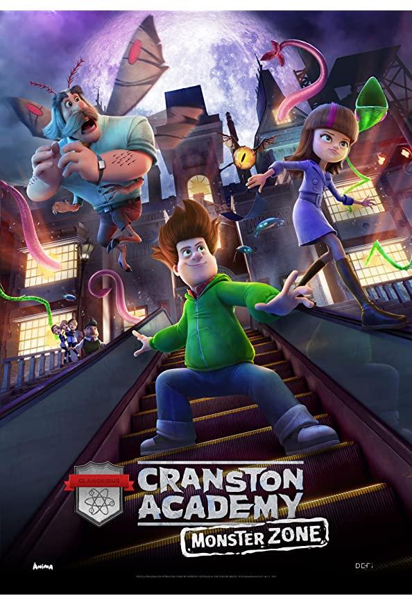 Cranston Academy: Monster Zone kapak