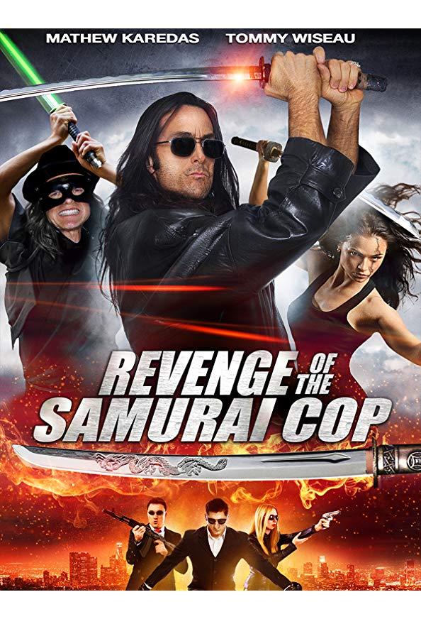 Revenge of the Samurai Cop kapak