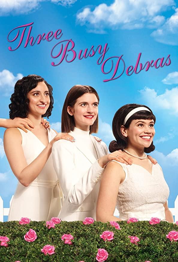 Three Busy Debras kapak