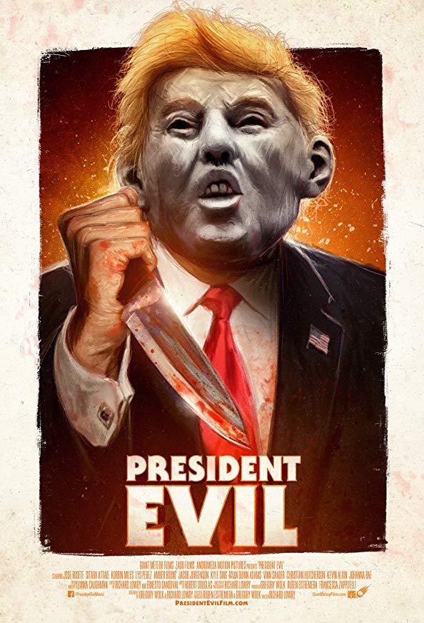 President Evil kapak