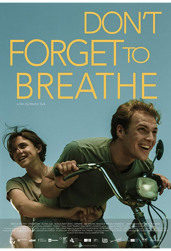 Don't Forget to Breathe kapak