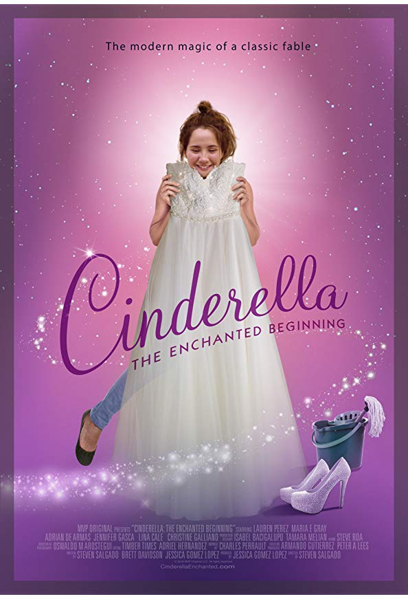 Cinderella: The Enchanted Beginning kapak