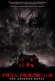 Hell House LLC II: The Abaddon Hotel kapak