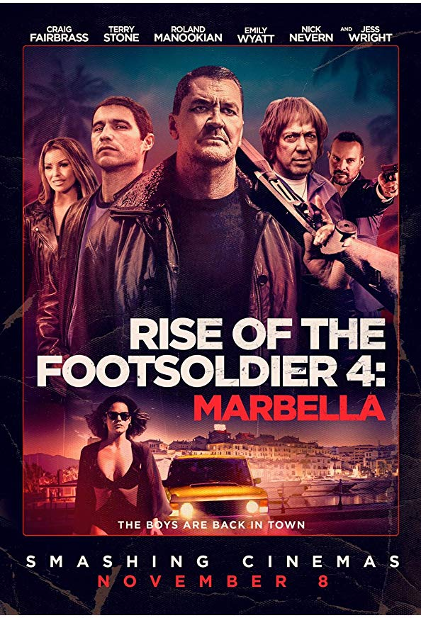 Rise of the Footsoldier: Marbella kapak