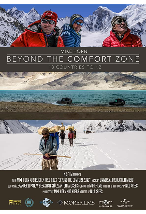 Beyond the Comfort Zone - 13 Countries to K2 kapak