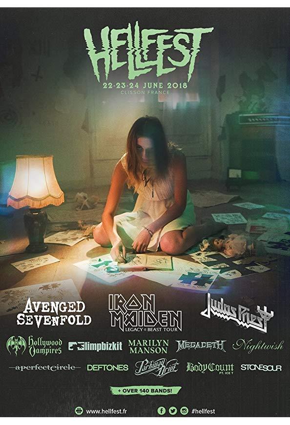 Hellfest 2018 kapak