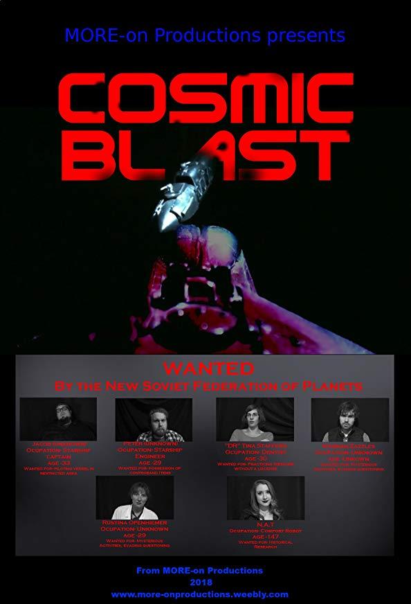 Cosmic Blast kapak