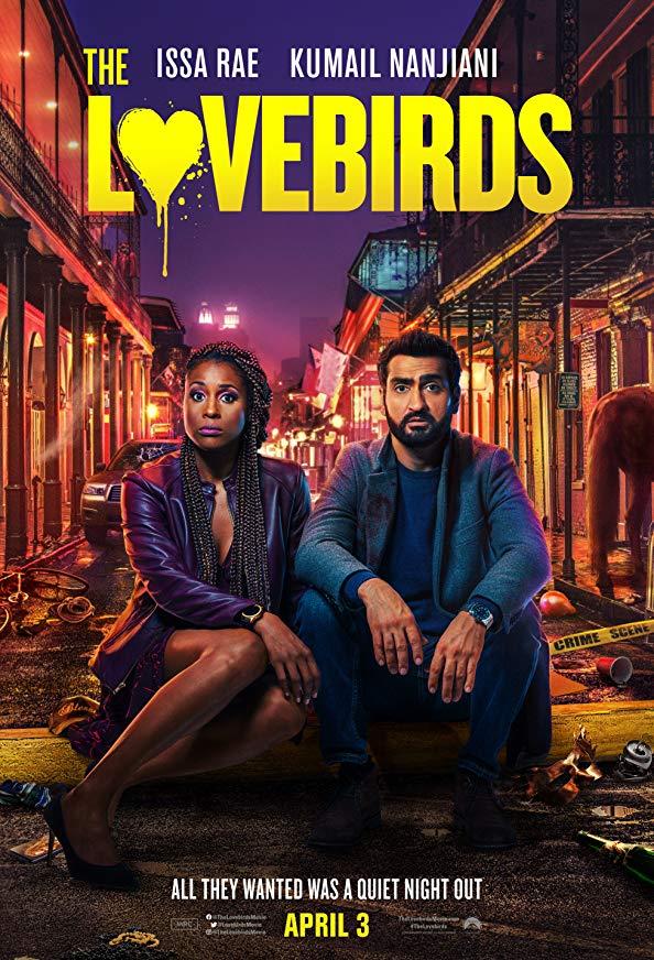 The Lovebirds kapak