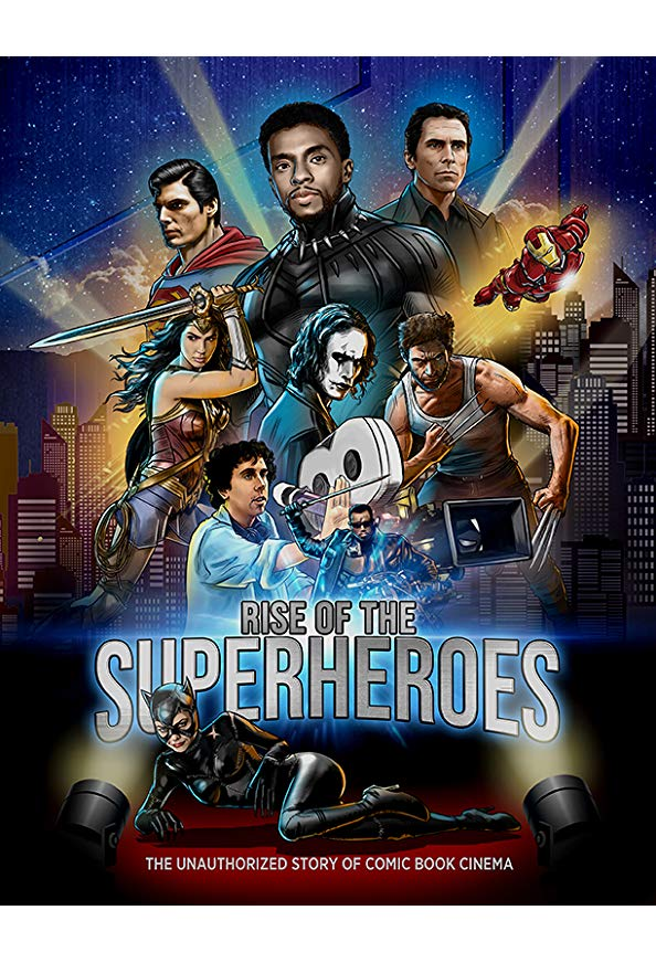 Rise of the Superheroes kapak