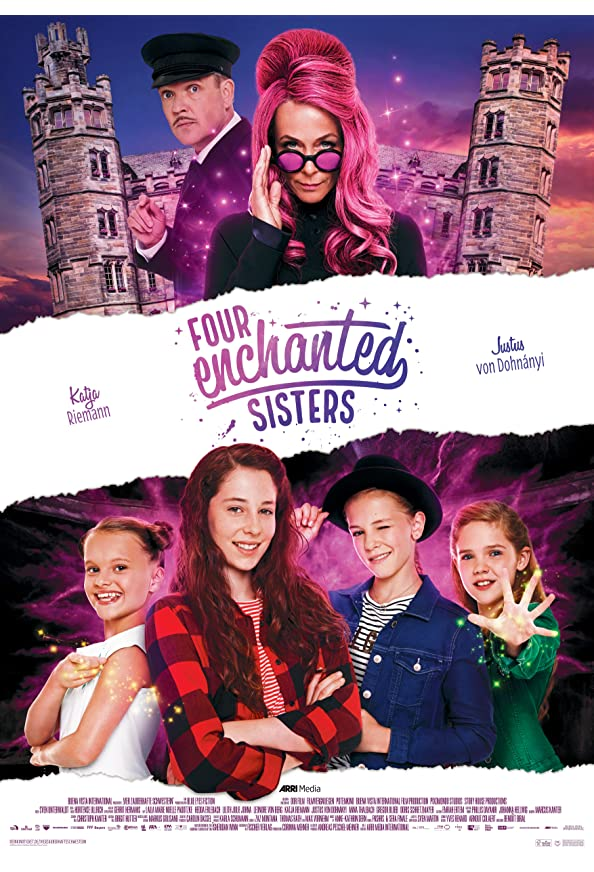 Four Enchanted Sisters kapak