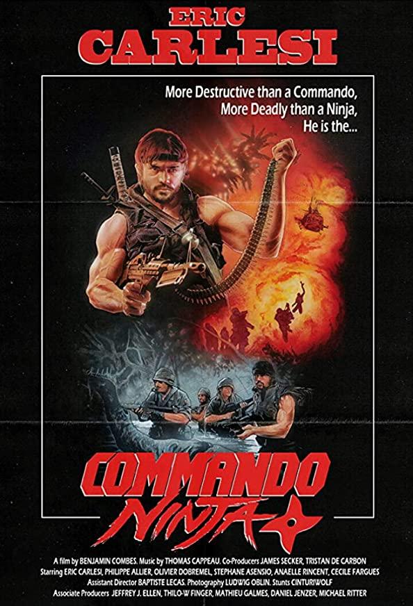 Commando Ninja kapak