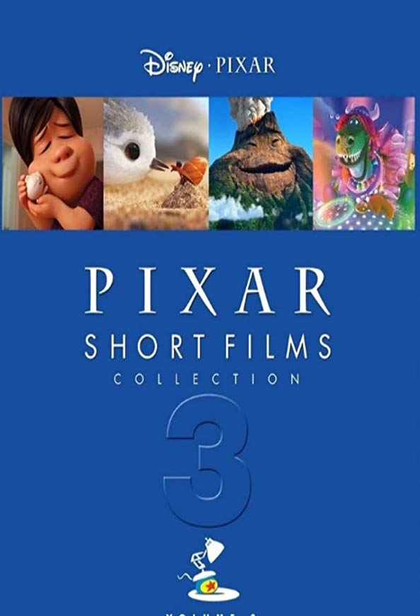 Pixar Short Films Collection 3 kapak
