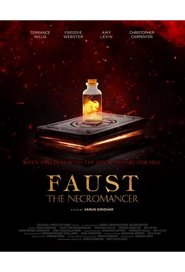 Faust the Necromancer kapak