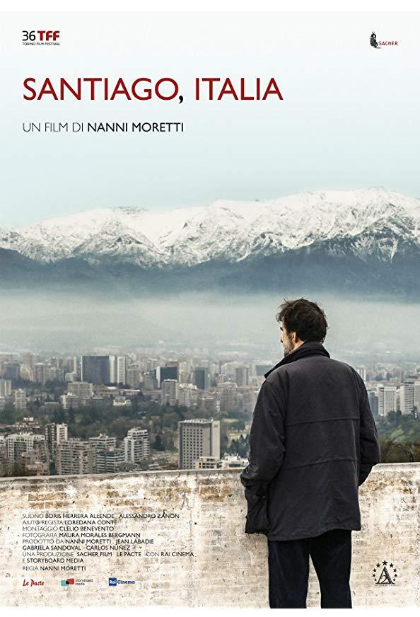 Santiago, Italia kapak