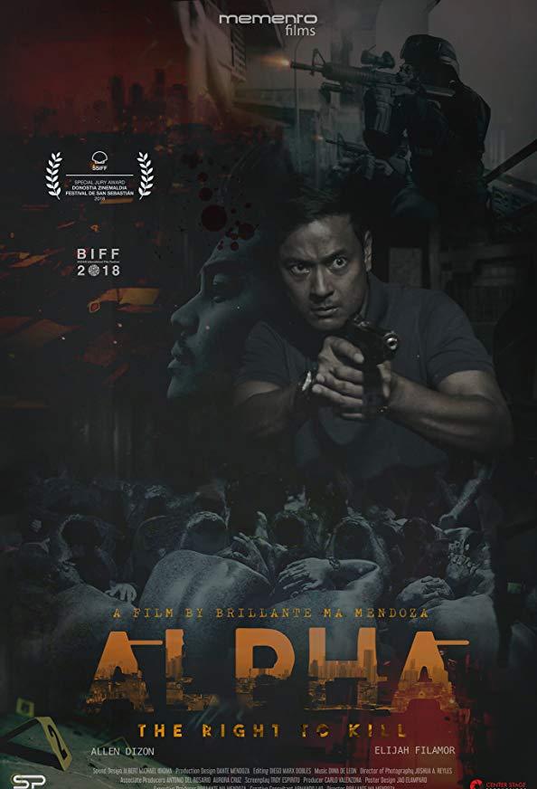 Alpha: The Right to Kill kapak
