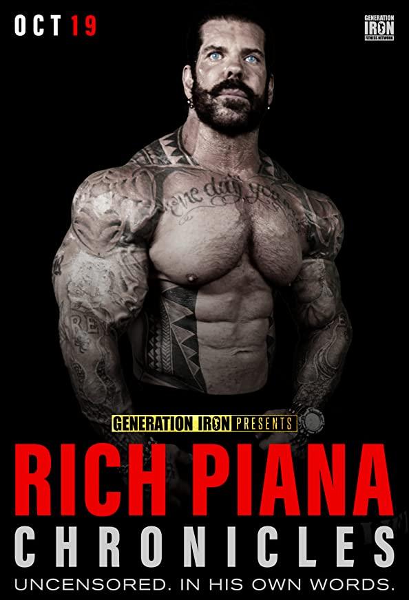 Rich Piana Chronicles kapak