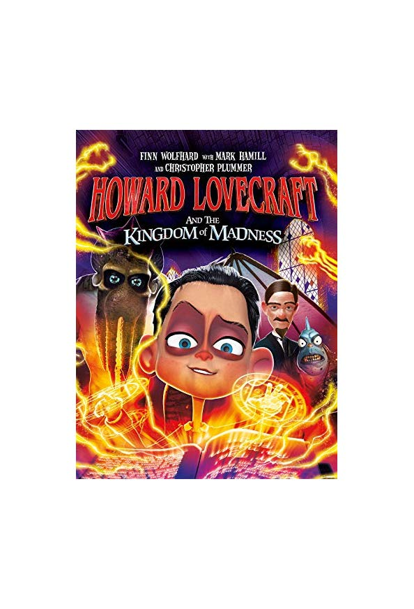 Howard Lovecraft and the Kingdom of Madness kapak