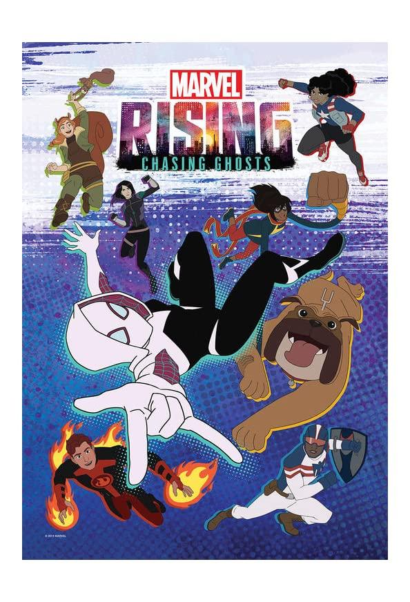 Marvel Rising: Chasing Ghosts kapak