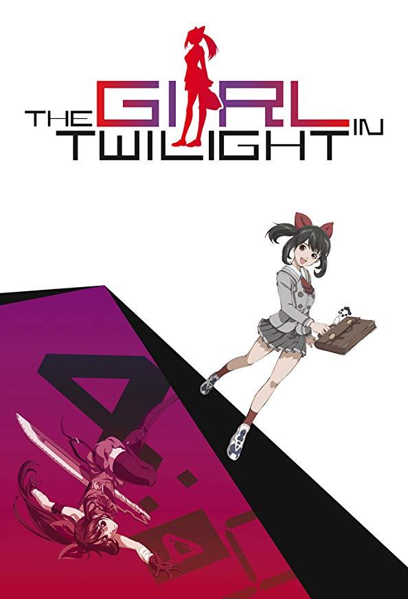 The Girl in Twilight kapak