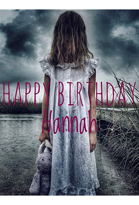 Happy Birthday Hannah kapak