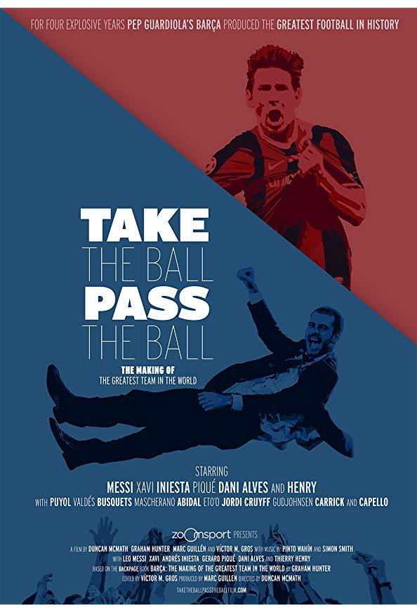 Take the Ball, Pass the Ball kapak