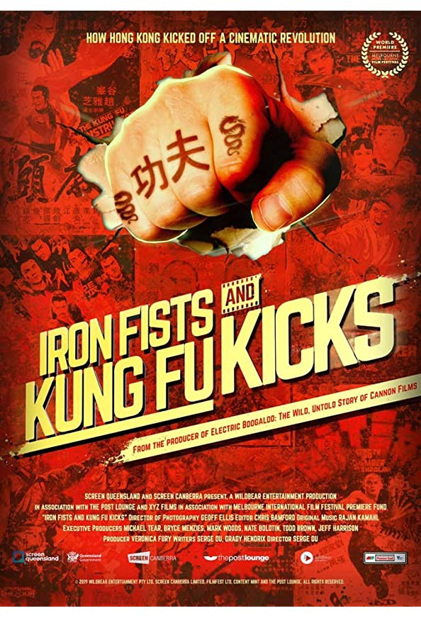 Iron Fists and Kung Fu Kicks kapak