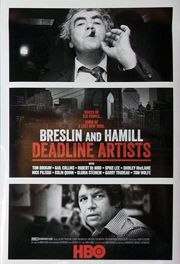 Breslin and Hamill: Deadline Artists kapak