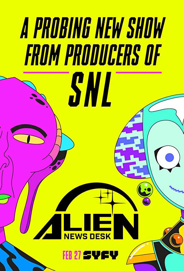 Alien News Desk kapak