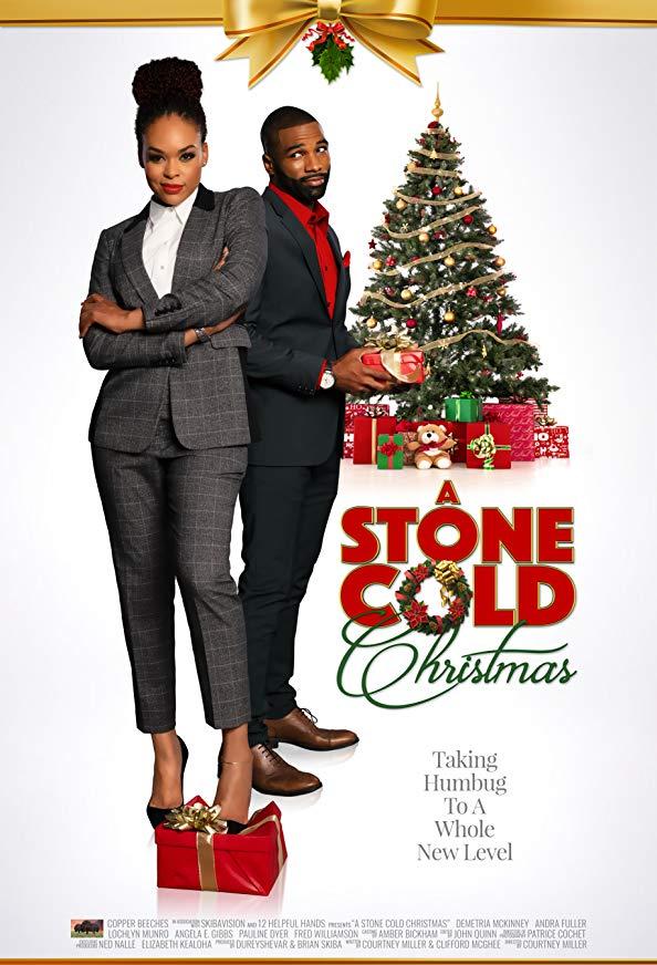 A Stone Cold Christmas kapak