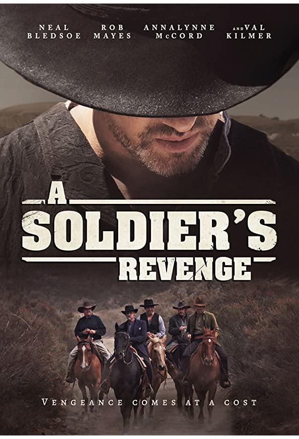 A Soldier's Revenge kapak