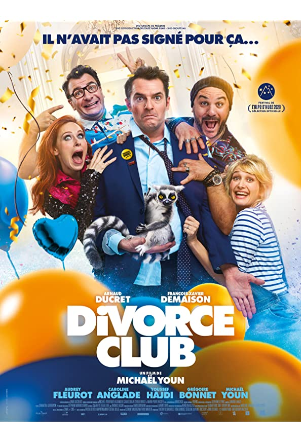 Divorce Club kapak
