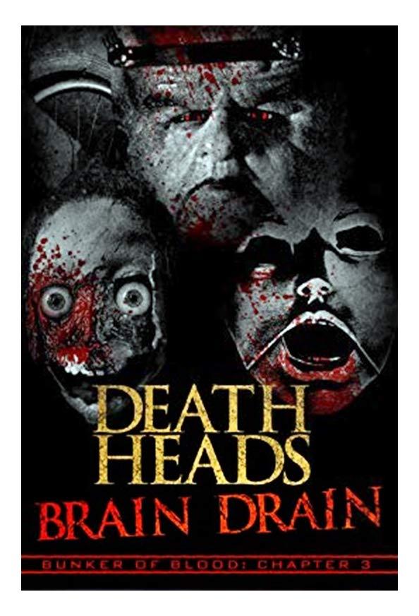 Death Heads: Brain Drain kapak