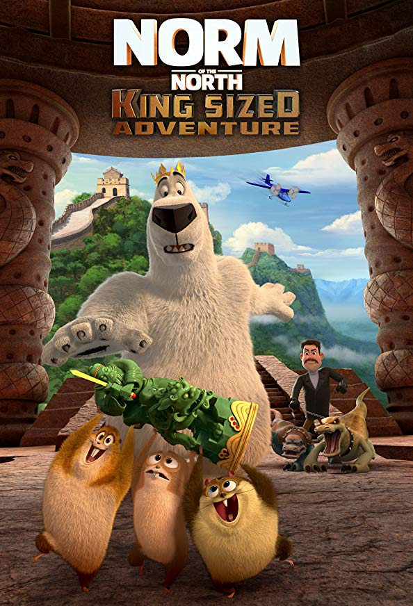 Norm of the North: King Sized Adventure kapak
