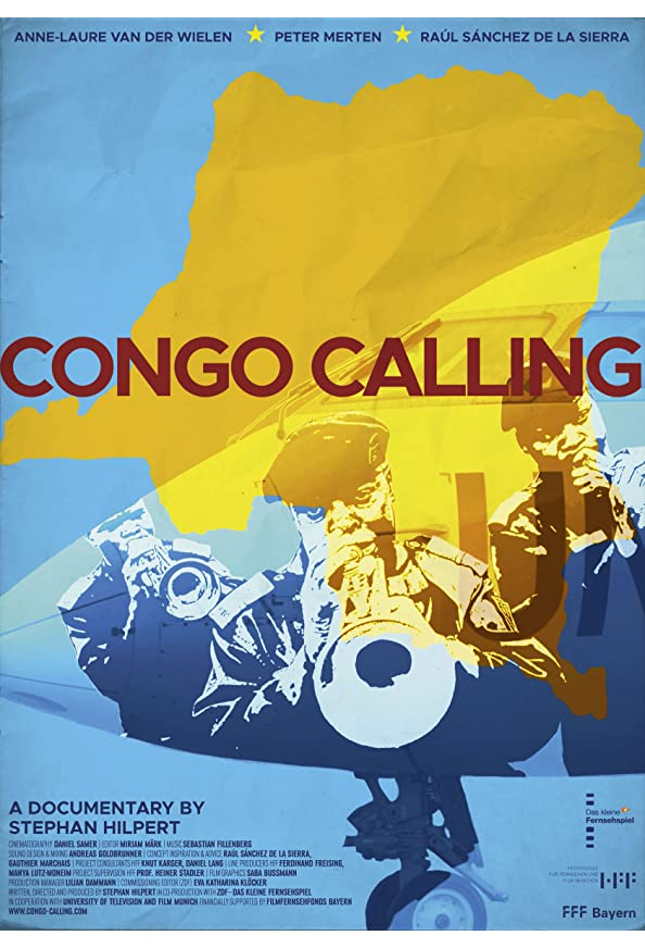 Congo Calling kapak