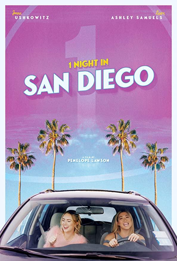 1 Night in San Diego kapak