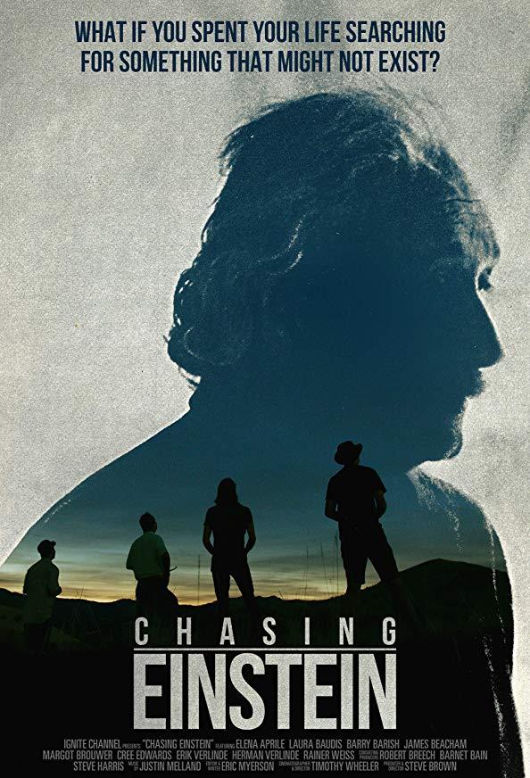 Chasing Einstein kapak