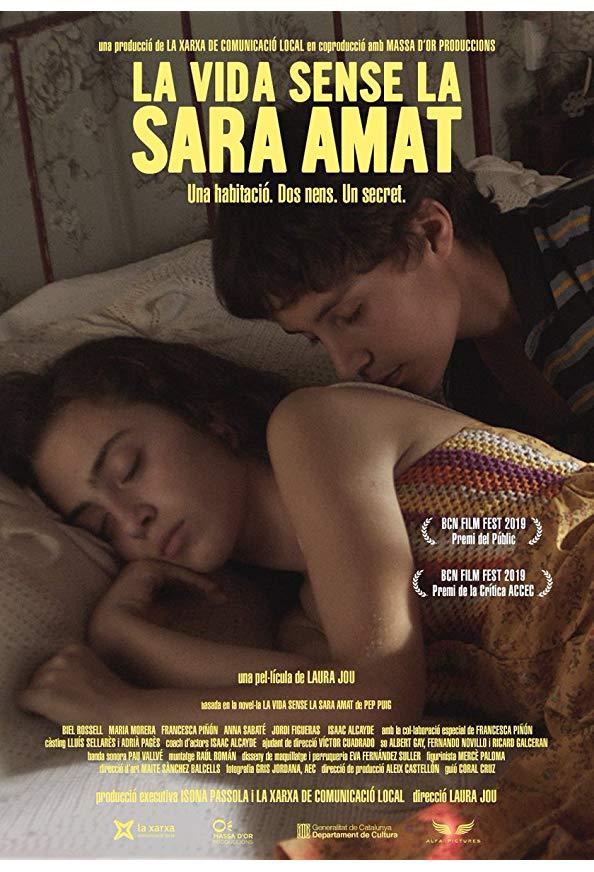 La vida sense la Sara Amat kapak