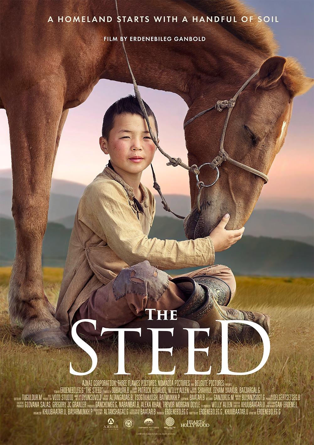 The Steed kapak