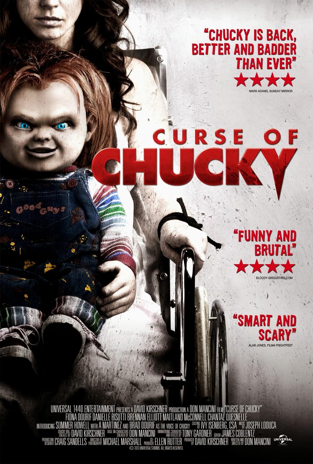 Curse of Chucky kapak