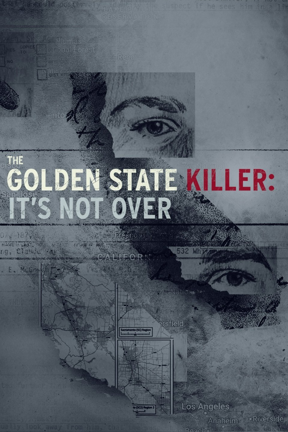 The Golden State Killer: It's Not Over kapak