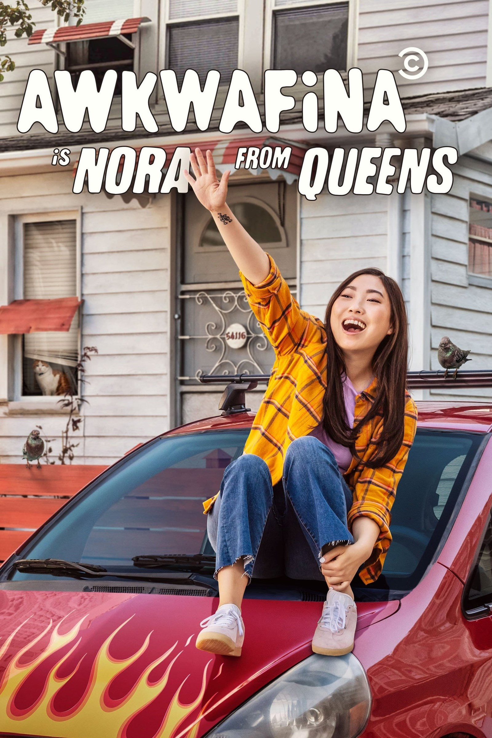 Awkwafina Is Nora from Queens kapak