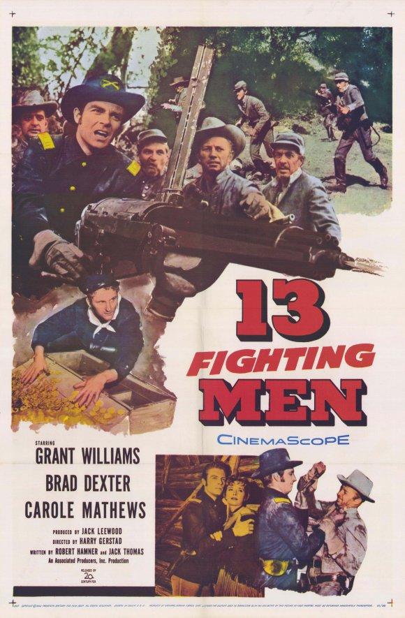 13 Fighting Men kapak